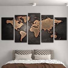 Amazing Ideas Map Wall Art Also How To Create A World Diy Canvas Uk Etsy Antique Maps Ikea Canada Amazon