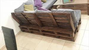 Diy Pallet L Shaped Sofa Coffee Table For Living Room