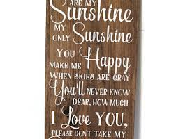 You Are My Sunshine Baby Bedding by You Are My Sunshine Wall Art Etsy