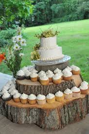 Rustic Wedding Cupcake Stand Ideas