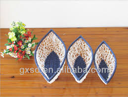 Shangdi Products White Blue Art And Craft For Waste Material