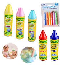 Crayola Bathtub Crayons Collection by Kids Soap Bath Shower Gel Foam Hair Crayola Coloured Crayons Safe