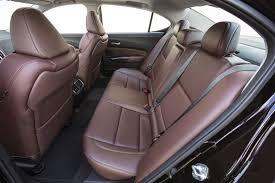 2015 Acura Tlx 35 Rear Interior Seats Automotive