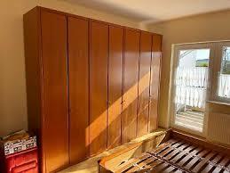 schlafzimmer hülsta buche front massiv honigfarben dunkel