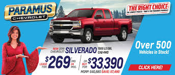 Lease Specials At Paramus Chevrolet - New & Used Chevy In New Jersey