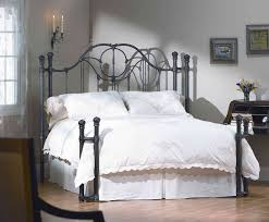 Wrought Iron King Headboard And Footboard by Bedroom Design Black Bed Frame Iron King Metal Throughout Size