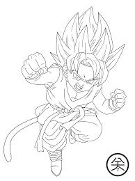 Dibujos Para Colorear De Goku Fase Dios Foto Bugil