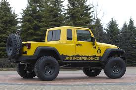 100 4 Door Jeep Truck Wrangler JK8 Independence DIY Mopar Kit Allows Owners To Turn