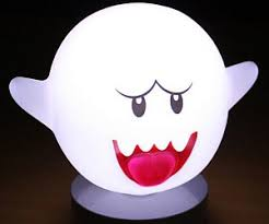 Mario Question Mark Block Lamp super mario motion sensor boo lamp
