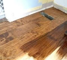 Plywood Flooring Floors Woodworking Staining Hardwood Home Decor Living Diy Over