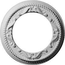 westinghouse 16 in split design white finish ceiling medallion