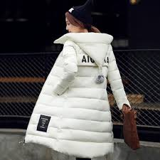Plus Size Womens Cotton Filer Winter Coat Thick Pregnant Hooded Long Slim Design Down Overcoat