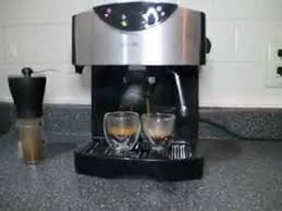 Mr Coffee ECMP50 Pump Espresso Cappuccino Latte Maker