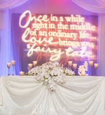 La Vie En Rose Wedding Reception Drape Poem Pin Light Candle Sweetheart Table Crystal Orchid Clearwater Beach Marriott Suites Florida