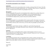 Sample Letters Of Recommendation For Graduate School Letter Format