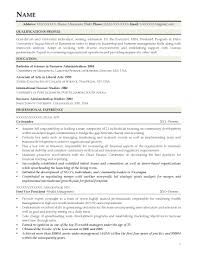 Mba Candidate Resumes