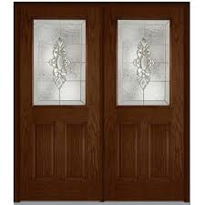 Front Doors Milliken Millwork 64 In X 80 In Heirloom Master