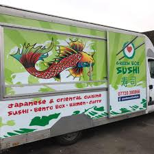 100 Green Food Truck Box Sushi Home Facebook