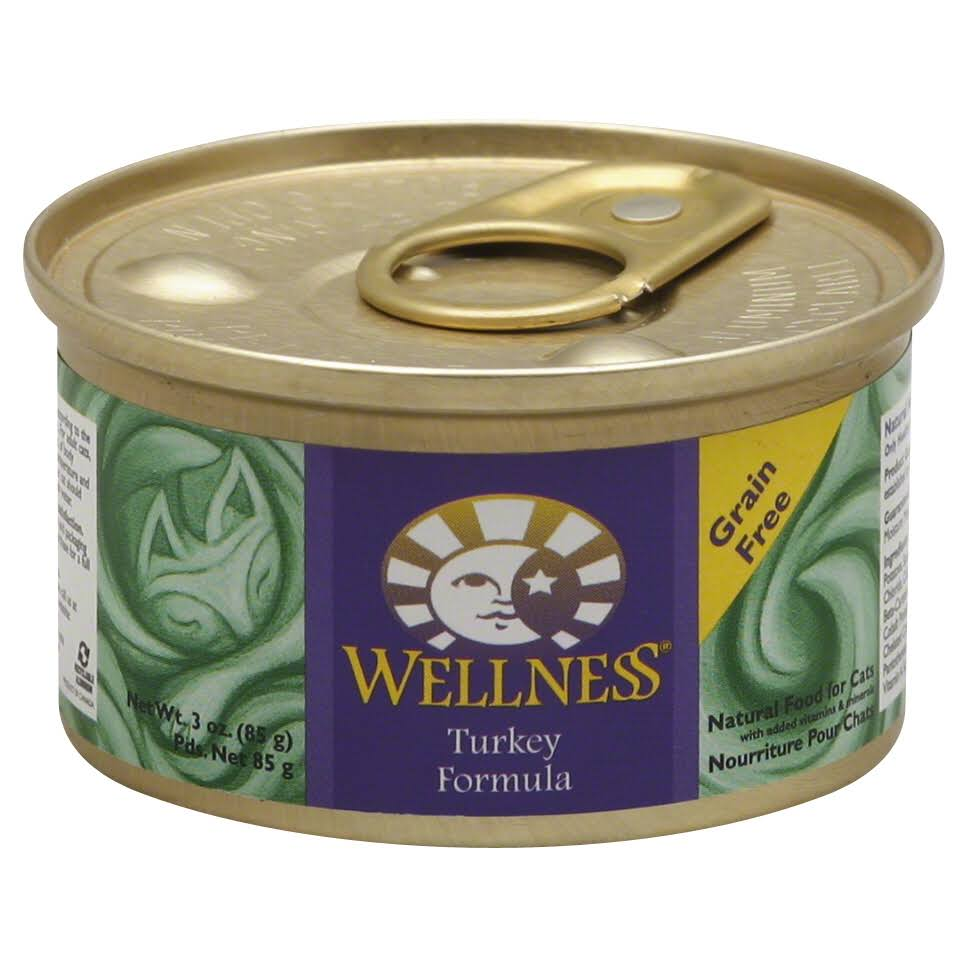 Wellness Cat Food - Turkey Formula, 3oz