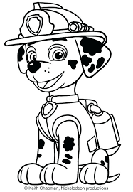 Coloring Pages Paw Patrol S Ryder To Print
