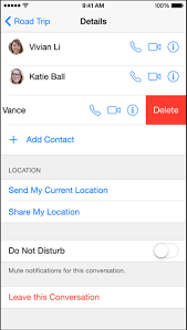 How to mute or leave a group chat in iOS Messages app
