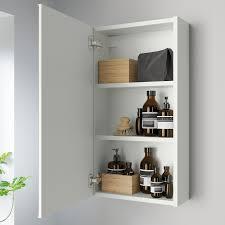 enhet spiegelschrank 1 tür weiß 40x17x75 cm