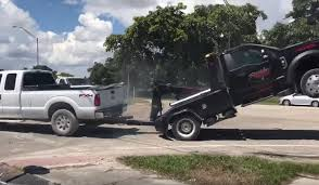 Pickup Truck Repossession Turns Into Awkward Tug Of War
