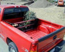 cargo gate by loading zone truck bed divider