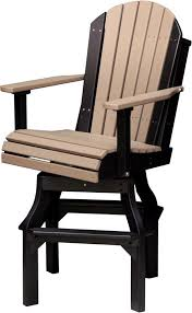 luxcraft adirondack swivel chair from dutchcrafters amish furniture