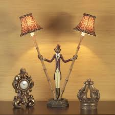 Maitland Smith Buffet Lamps by I Love This Lamp U003d U003d Handpainted Monkey Bellhop Lamp Holds 2 Bamboo