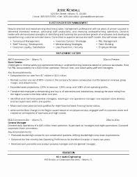 Retail Manager Resume Summary Luxurious Sample For Store