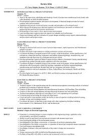 Download Electrical Project Engineer Resume Sample As Image File