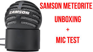 Samson Meteorite Titanium Black - Unboxing + Mic Test - YouTube China Quarry Tyre 205r25 235r25 Advance Samson Brand Radial 12x165 Samson L2e Skid Steer Siwinder Mudder Xhd Tire 16 Ply Meorite Titanium Black Unboxing Mic Test Youtube 8tires 31580r225 Gl296a All Position Truck Tire 18pr High Quality Whosale Semi Joyall 295 2 Tires 445 65r22 5 Gl689 44565225 20 Ply Rating 90020 Traction Express Mounted On 6 Hole Bud Style Tractor Tyres Prices 11r225 Buy Radial Truck Gl283a Review Simpletirecom