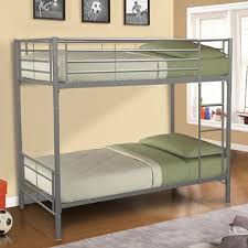 innovex polaris twin over twin bunk bed silver sam s club