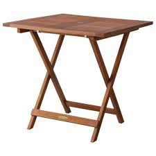 target smith hawken square wood folding patio table 75 buy