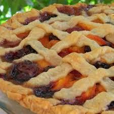 Summer is Here Triple Berry Peach Pie Ground nutmeg ground cinnamon all