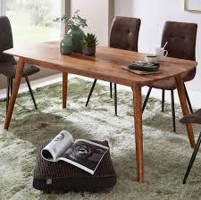 wohnling esszimmertisch wl5 572 holz 120x77x60 cm sheesham massivholz tisch designer küchentisch holz massiver holztisch rustikal speisetisch