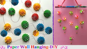 How To Make Paper Wall Hangings At Home For Christmas