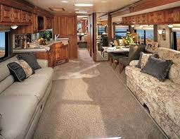 This Motorhome Would Have 2 To 3 Slideouts For It Be Roomy Inside