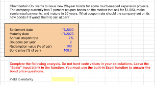 Solved: Chamberlain Co. Wants To Issue New 20-year Bonds F ... Free One Time Use Coupon Codes Vrv And Hello Fresh Album How Much Is Shipping On Chegg Online Sale Chegg Coupon Codes 2018 Cinemas Sarasota Fl Directory Opus Discount Code Kohls Anniversary Useful The Solutions Free Trial Quora Annual Membership Limit One Per Person Code To Apply Trial Books Bowling Com Promo Cheggcom Account Best Service Life Good 2014 By Ashley Routh Issuu