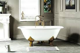 toto bathtubs cast iron freestanding cast iron soaking tub seoandcompany co