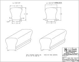 LJ 6010P Plowed Handrail LJ Smith