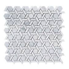 jeff lewis crescent 10 1 4 in x 11 in x 8 mm limestone mosaic