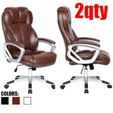 Amazon.com: 2xhome Set Of Two (2) - Brown - Deluxe Professional PU ... Amazoncom Aingoo Big And Tall Executive Office Chair Vintage Brown Alera Ravino Series Highback Swiveltilt Leather Best Unique Doblepiel Mayline Comfort 6446ag With Pivot Arms Lazboy Elbridge Center Shop For Vanbow Recling High Ofm In Vl685 Ld Products Star Proline Ii Deluxe Back Chairs Bonded Padded Flip Ergonomic Pu Task Titan