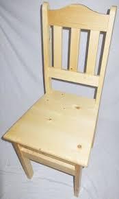 holz stuhl kiefer massiv antik look landhaus stühle vollholz