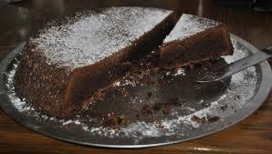 Irish Whiskey Fudge Cake