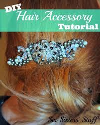 25 unique Diy hair accessories tutorial ideas on Pinterest