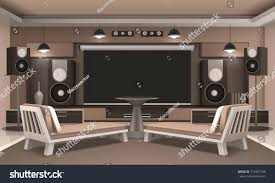 Modern Home Cinema Interior Acoustic System Stock Vector 712997740 ... Interior Design Architecture Modern Spacious Home Cinema Room 1000 Images About Theater On Pinterest 20 Designs For Life Unique Ideas Rooms Bowldertcom Creative Decor Sawbridgeworth In Your Cicbizcom Stage Idfabriekcom Best 25 Cool Home Cinema Room Ideas