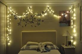 Excellent Ideas Christmas Lights For Bedroom
