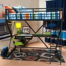 wally loft bed loft bed in black jerome s furniture